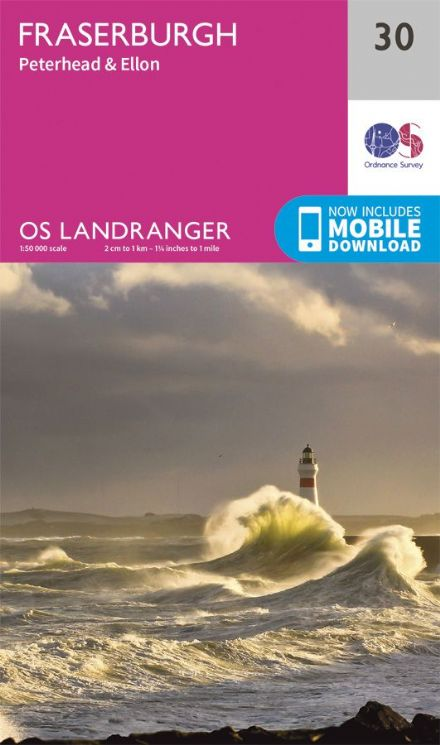 OS Landranger 30 - Fraserburgh, Peterhead and Ellon